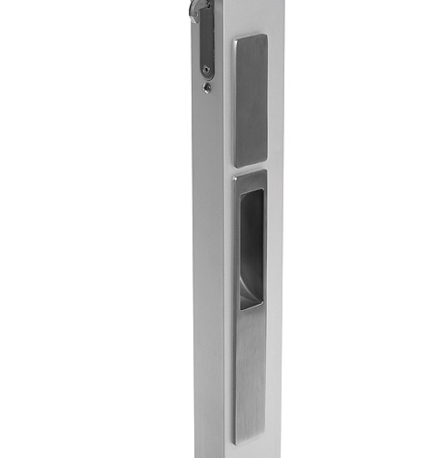 feature hardware mgws flush handle exterior